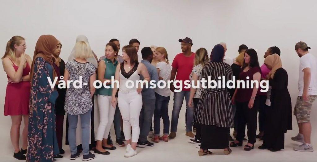 studenter som utbildat sig till undersköterskor i stockholm